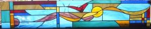 vidriera vuelo